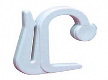 30 Integra valance hooks for curtain track pelmets